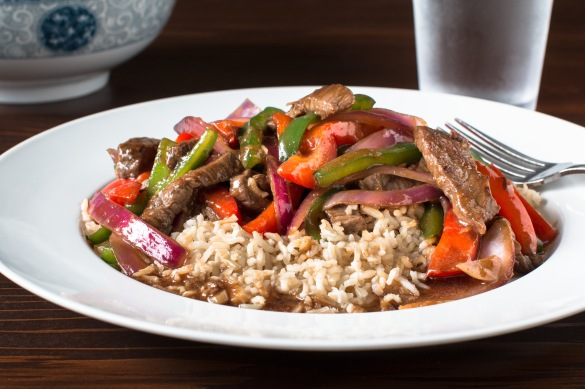 Chinese pepper steak-8683