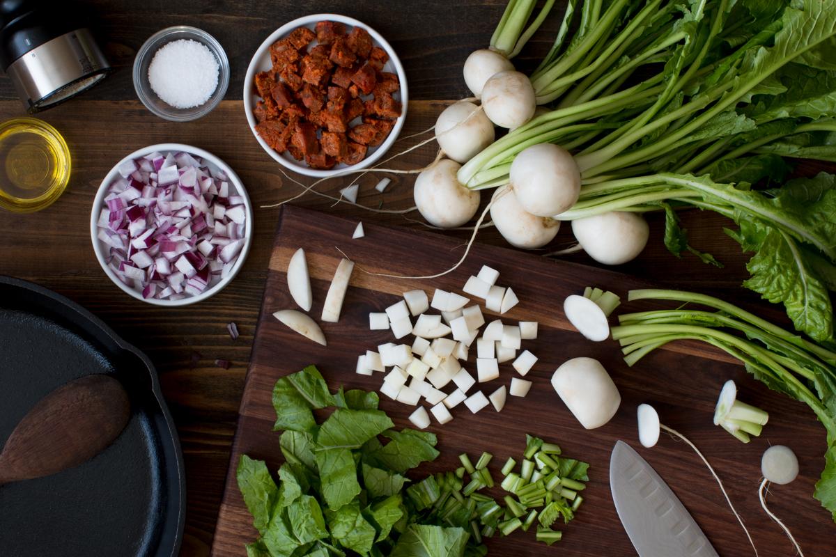 miz-for-white-turnip-and-turnip-green-hash-with-spanish-chorizo-4034-2