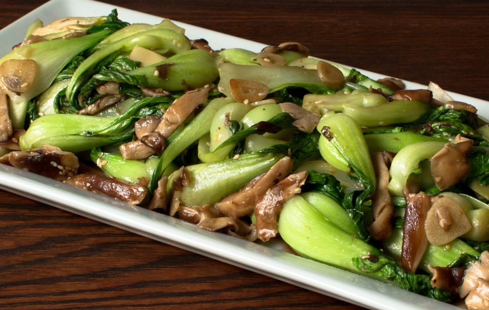 how to cook baby bok choy video