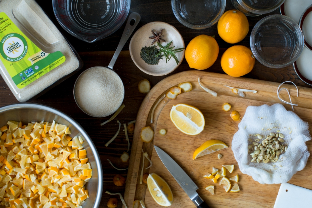 Meyer Lemon Marmalade Three Ways: Star Anise, Rosemary, and Green Tea ...