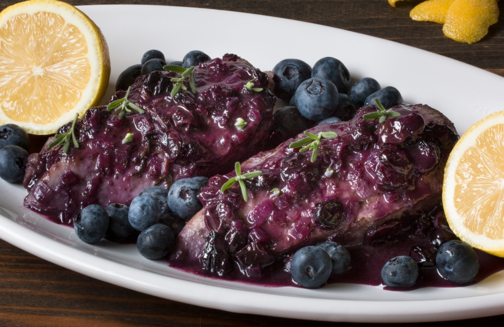 Blueberry lemon and lavender chicken breasts hr-9409
