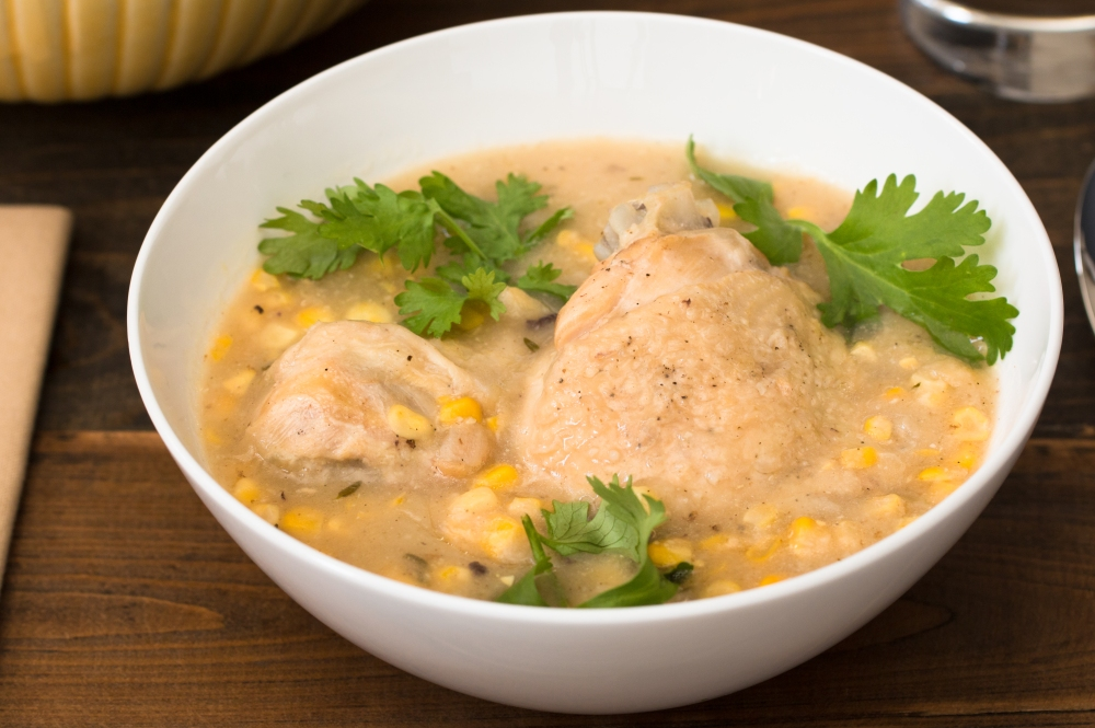 Chicken and sweet corn soup hr-9143