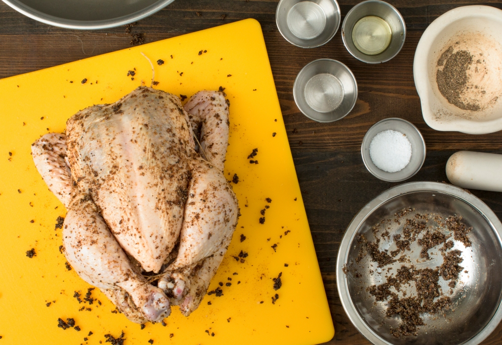 Miz for roasted chicken with dried lemon and pepper wet rub hr-9207